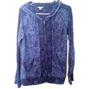 Lucky brand jeans lucky lotus yoga jacket M